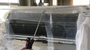 エアコン洗浄機使用例